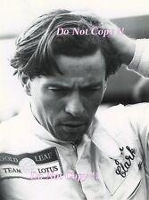 Jim Clark GOLD LEAF Team Lotus PORTRAIT PHOTOGRAPHIE DE 1968 2