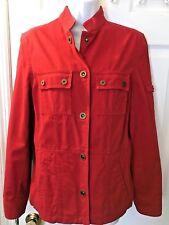 654ee29cfb653 New ListingNew Women s LAUREN Ralph Polo Naval Supply Company Red Coat  Jacket RL Goods Sz M