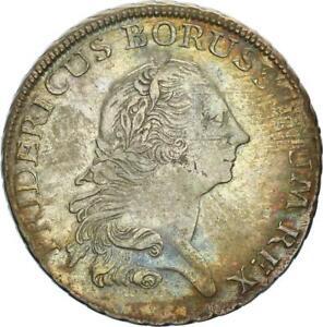 Brandenburg-Preußen Friedrich II. Taler 1772 B (Breslau) Silber SELTEN ss+