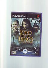 El Señor De Los Anillos: las Dos Torres-PS2 juego/+60GB PS3-completa-En muy buena condición