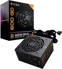 EVGA 600W 600 GD 80+ GOLD 5 Year Warranty Power Supply 100-GD-0600-V1