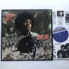 Michael Jackson Ben LP VG+/VG++ US DJ Promo Labels Motown Rare Rat Cover