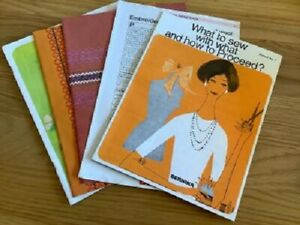 instruction books for Bernina sewing machine NEW