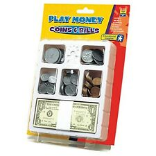 Learning Resources Lets Pretend Play Money Coins &