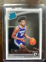 Marvin Bagley III 2018-19 Donruss Optic Rated Rookie RR RC #168 Kings MINT