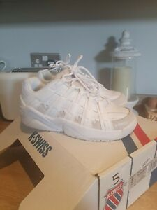 Chunky Trainers, Kswiss, Cheer leading Style White Size 5