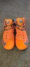 Nike Zoom Lebron Soldier 11 XI sz 12 Hunter Orange Camo Rare Retro Jordan