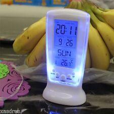 Uhren, Led Digital Wecker Despertador Schreibtisch elektrisiertes eingefroren XD