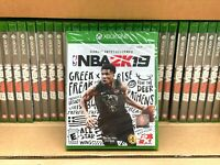 NBA 2K19 Xbox One Brand New Sealed Game Disc - Fast Shipping