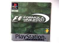51898 Instruction Booklet - Formula One 2001 - Sony PS1 Playstation 1 (2001) SCE