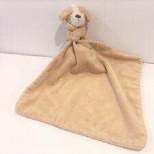 Jellycat Tan Dog Security Blanket Lovey Puppy Plush Beige