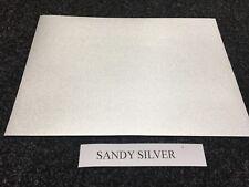 A4 SELF ADHESIVE INKJET PRINTABLE SANDY SILVER EFFECT VINYL STICKER (5 SHEETS)
