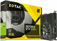 BRAND NEW! - Zotac Nvidia GeForce GTX 1050Ti 4 GB Mini Graphics Card - Black