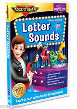 ROCK n LEARN - Letter Sounds - Award Winning Educational DVD - (NEW)