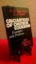 Calculations of Chemical Equilibria Examples and Problems 1978 hardcover