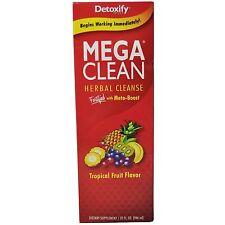U.S. Seller Detoxify Mega Clean 32oz Detox Tropical Fruit Flavor Cleansing (d69)