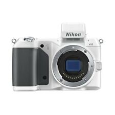 USED Nikon 1 V2 14.2 MP HD Digital Body White Excellent FREE SHIPPING