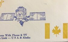 SPACE COVER 1978 ANIK-4 CANADIAN DOMESTIC COMM SATELLITE