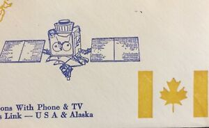 CANADA SPACE COVER 1978 ANIK-4 CANADIAN DOMESTIC COMM SATELLITE