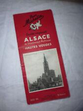Guide Michelin régional Alsace Hautes Vosges 1935 1936