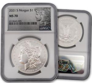 2021 S Morgan Dollar NGC MS70