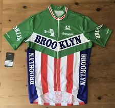 New Giordana Brooklyn SS Retro Italia Jersey XL But Fits As XXL Ref:P44