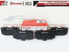 FOR NISSAN FAIRLADY Z Z32 3.0 TWIN TURBO 90-95 FRONT BREMBO BRAKE PADS P56025
