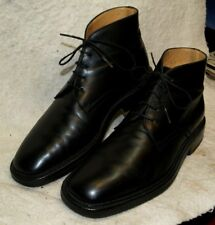 Wayne Edwards High Top dress Shoe`s Leather Soles Men`s 6 1/2 M  Made in Italy