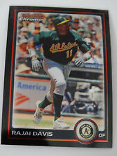 2010 Bowman Chrome #23 Rajai Davis Oakland Athletics A's Baseball Card