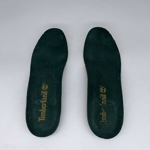 Timberland INSOLES Green White Black Insert Footbed Men Size 9 US