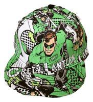 Mens DC Comics Green Lantern Adult A-Flex Hat Cap NWT Licensed