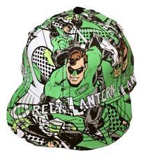 bf89198b7c6 Mens DC Comics Green Lantern Adult A-Flex Hat Cap NWT Licensed