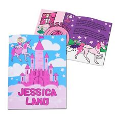 Personalised Girls Princess Story Book Bedtime Story With Child's Name Paperback
