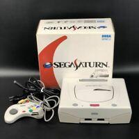 Sega Saturn Console System white HST-3220 Choose type JAPAN