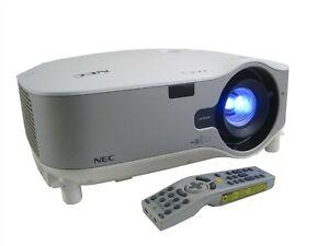 NEC NP3250 3LCD Projector 5000 ANSI Lumens WXGA Wireless Module+Remote Control