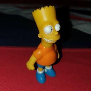 "Vintage The Simpsons Action Figures BART SIMPSON 3.5"" 1990s Retro"