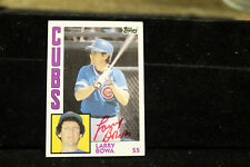 Larry Bowa Chicago Cubs Baseball Signed Card Autographed Auto