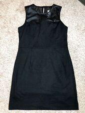 BANANA REPUBLIC Women's Little Black Dress SIZE 4 Mesh Yoke Shell