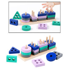 Wooden Puzzle Toys for Baby Kids Shape Sorter Educational Sorting Learning Toy