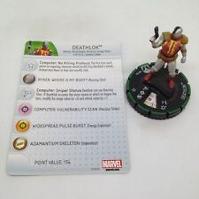 DEATHLOK #054 #54 Sinister Marvel HeroClix Veteran