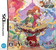 Used DS Avalon Code  NINTENDO JAPANESE IMPORT