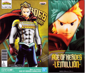 My Hero Academia: Age of Heroes Vol. 6 Mirio Togata Lemillion Figure Banpresto