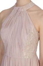 BNWT🌹Coast🌹Size 16 Dulcie Maxi Dress BLUSH Lace Top Bridesmaids Prom Cruise