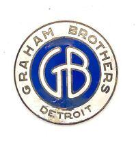 Graham Brothers Radiator Emblem Badge