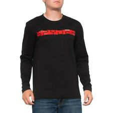 Spyder Men's Limitless Black and Red Word Logo T-Shirt  Base Layer, Size L, NWT