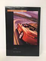 Mitsubishi Car 1996 Full Product Line Dealer Showroom Sales Brochure Poster 1725