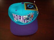 CHARLOTTE HORNETS G-CAP LJ BIG LOGO  SCRIPT  VINTAGE 90'S HAT CAP  SNAPBACK