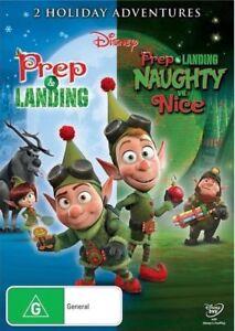 Prep & Landing / Naughty Vs. Nice (DVD, 2012) New