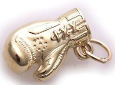 Neu Anhänger Boxhandschuh echt Gold 585 Gelbgold 14 karat Handschuh massiv Top