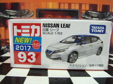TOMICA #93 NISSAN LEAF 1/63 SCALE NEW IN BOX